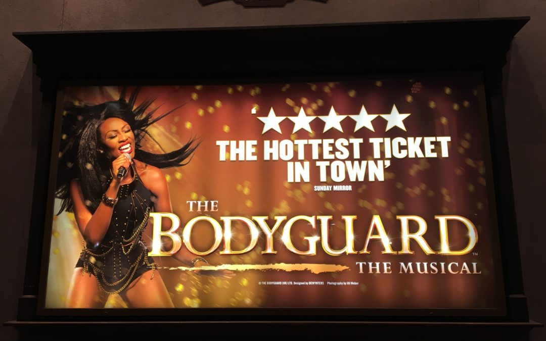 On Stage Now: The Bodyguard, The Musical